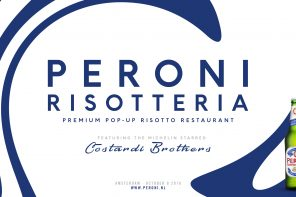 Peroni opens 1st Pop-Up Risotteria in the World + GIVEAWAY!